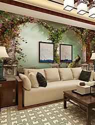 Décoration artistique / 3D Fond d'écran pour la maison Classique Revêtement , Toile Matériel adhésif requis Mural , Chambre Wallcovering