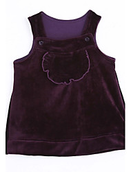 Baby Casual/Daily Solid Tank & Cami-Cotton-Winter / Fall-Purple