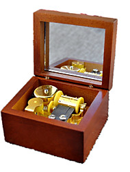 Music Box Toys Leisure Hobby Novelty Sound Metal Wood Boys´ Girls´