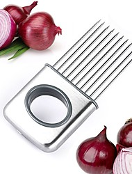 1 Piece Potato / Tomato / OnionVegetable / Meat / Cooking Utensils Metal / Plastic Creative Kitchen Gadget