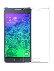Protector de pantalla - Cristal Templado Anti Explosión/A Prueba de Polvo/Impermeable - para Samsung Galaxy Alfa