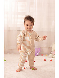 Baby Casual/Daily Striped One-Pieces,Cotton All Seasons Long Sleeve