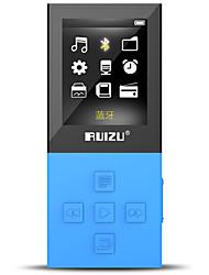 RUIZU MP3/MP4 MP3 WMA WAV FLAC APE Bateria Li-on Recarregável