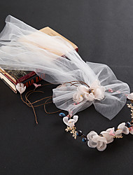 Women's Alloy / Imitation Pearl Headpiece-Wedding / Special Occasion / Casual Tiaras / Headbands / Hair Tool 1 Piece