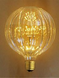 2W E26/E27 Ampoules Incandescentes 49 LED Dip 100 lm Jaune Décorative AC 100-240 V 1 pièce