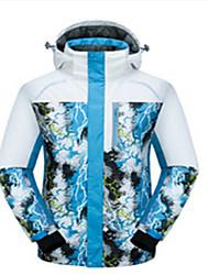 Ski Wear Tops Men's Winter Wear Winter Clothing Waterproof Thermal / Warm Windproof Wearable BreathableSkiing Skating Backcountry