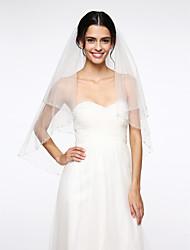 Wedding Veil Two-tier Fingertip Veils Net