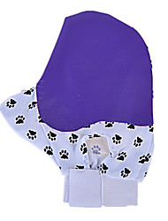 Dog Cleaning Brush / Baths Pet Grooming Supplies Waterproof / Massage Purple Fabric / Rubber