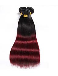 Ombre Brasilianisches Haar Gerade 1 Stück Haar webt