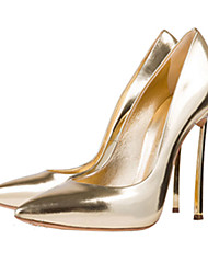 Women's Heels Spring Summer Fall Other Leatherette Office & Career Dress Casual Party & Evening Stiletto Heel Silver Rose Gold Champagne Other