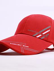 Hat Ultraviolet Resistant Unisex Baseball Summer Red Khaki Black Blue-Sports®