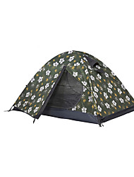 MOBI GARDEN® 3-4 persons Tent Double Automatic Tent One Room Camping Tent OxfordWaterproof Breathability Ultraviolet Resistant Windproof
