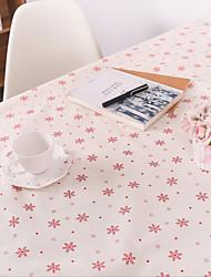 neige coton nappe noël et lin imprimé nappe hôtel table à thé serviette 60 * 60cm