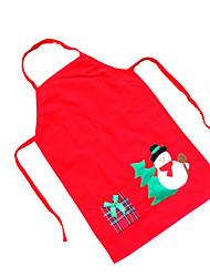 Kerstcadeaus Kerstfeest Artikelen Alles voor de feestdagen 1Pcs Kerstmis Textiel Zilver