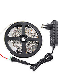 5M 3528 300 SMD IP65 RGB AC 100-240V 12V 3A Power Supply Linker With Lamp Power Supply