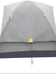 Soaring 3-4 persons Shelter & Tarp Tent Double One Room Camping Tent FiberglassWaterproof Ultraviolet Resistant Quick Dry Rain-Proof