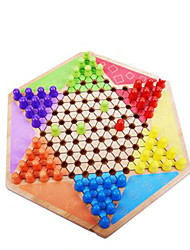Building Blocks / Board Game / Educational Toy For Gift  Building Blocks Leisure Hobby Circular / Square Bamboo5 to 7 Years / 8 to 13
