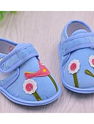 Girl's Loafers & Slip-Ons First Walkers Canvas Casual Blue Pink