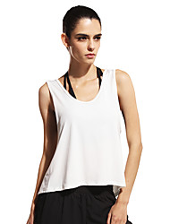 Running Tank Women's Sleeveless Breathable / Quick Dry / Sweat-wicking / Soft Polyester / ElastaneYoga / Pilates / Exercise & Fitness /