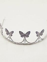 Women's Brass Headpiece-Wedding Tiaras 1 Piece
