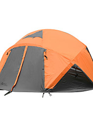 MOBI GARDEN 5-8 persons Tent Triple Camping Tent Automatic Tent Keep Warm Waterproof Portable Windproof Ultraviolet Resistant Foldable