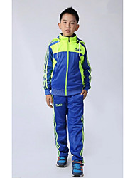 Sports Kid's Long Sleeve Soccer Tracksuit Comfortable Blue Lake Blue Football/Soccer XS S M L XL