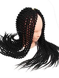 2017 Island Twist Crochet Braids Hair Extensions 22 inch Kanekalon Hair Braids Unraveled Senegalese Twists crochet braid hair synthetic braiding hair