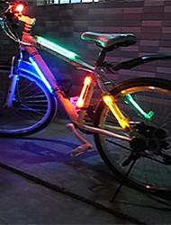 1Pcs Mountain Bike Safety Warning Led Lights  Bike   Laser  Taillights Random Color