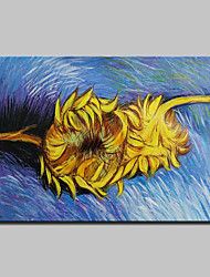 Hand Painted Sunflower Oil Painting On Canvas Modern Abstract Wall Art Pictures For Home Decoration Ready To Hang