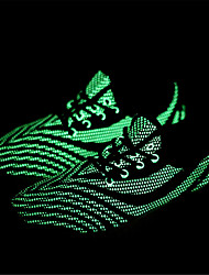 Fluorescence Men's Sneakers Comfort Tulle Shoes Athletic Casual Running Shoes Flat Heel Lace-up High Quality EU37-43