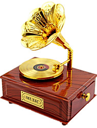 Music Box Music Creative Plastic Brown For Boys / For Girls