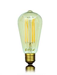 bofa ST64 conduit 4w edison antique lampe boule de soie bulle (85v-265v)