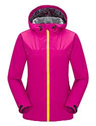 Femme Anorak pour Ski/snowboard Veste Coquille souple Ski Camping / Randonnée Sport de détente Ski alpin Sports de neigeEtanche