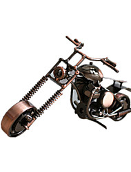 Дисплей Модель Модели и конструкторы Игрушки Оригинальные Мотоспорт Металл Персик