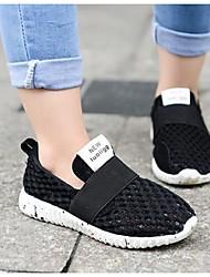 Para NiñoConfort-Zapatillas de Atletismo-Casual-Tul-Negro / Blanco