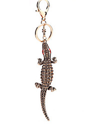 Key Chain Lizard Key Chain Bronze Metal