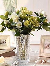 """25,6 """"haute qualité gardenia aritificial pour la décoration intérieure 1pc / set"""