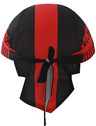 XINTOWN Headband Sweatband Cycling Cap Sunblock Cycling Biker Caps Set Headscarf Head Wraps Riding Hood Sports Hat- Red