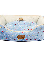 Cat / Dog Bed Pet Mats & Pads Casual/Daily Blue Fabric