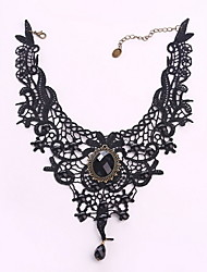 Necklace / Choker Necklaces Jewelry Daily Casual Circle Basic Design Lace Women 1pc Gift As Per Picture