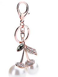 Schlüsselanhänger Kreisförmig Schlüsselanhänger Elfenbein