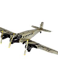 Figurines d'Action & Animaux en Peluche Maquette & Jeu de Construction Avion Métal Gris Pour Garçons Pour Filles