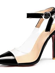 Women's Heels Spring Summer Fall Novelty Slingback Customized Materials Office & Career Dress Party & Evening Stiletto HeelBuckle Split