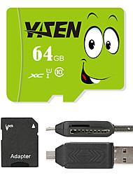 Autre 64Go MicroSD Classe 10 80 Autre Multiple dans un lecteur de carte Micro sd lecteur de carte Lecteur de carte SD ZP-1 USB 2.0