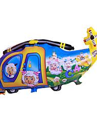Balões Decoração Para Festas Helicóptero Náilon Arco-Íris Para Meninos Para Meninas 5 a 7 Anos