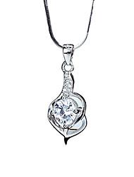 jóias s925 encanto de prata zircão das mulheres