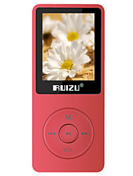RUIZU MP3/MP4 MP3 Bateria Li-on Recarregável