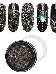 New 0.8MM Tiny Mini Rhinestone Micro Diamond 3D Nail Rhinestones Decoration DIY Crystal Pixie Nail Art Beauty Accessories Tool