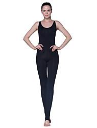 Yoga-Hose Unten Komfortabel Hoch Hochelastisch Sportbekleidung Schwarz Damen Yoga