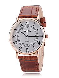 Men's fashion leisure sports really belt quartz man wrist watch